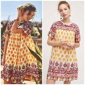 HTF🌸Anthropologie Caltha Swing Dress Tanvi Kedia